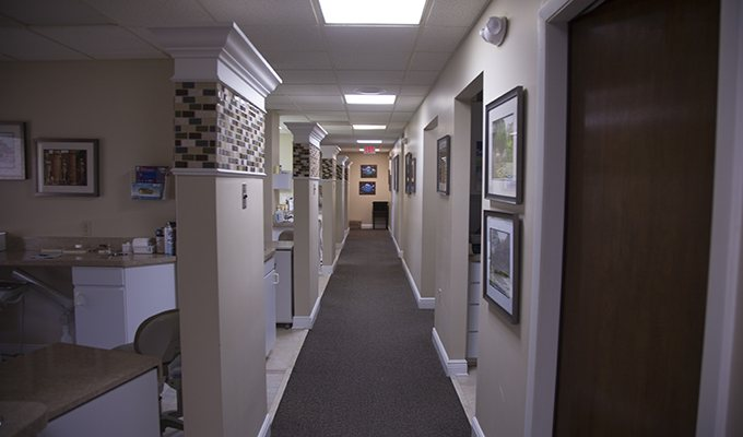 Hallway of Beautiful You Dental